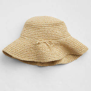 Baby Gap Factory Natural Straw Floppy Sun Hat